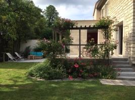 Agrandissement 7m2 avec toit terrasse pour Cuisine 25m2 Versailles Maçonnerie, menuiseries, parement, terrasse